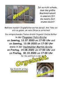 Orgelzeit in Hachmühlen mit Stefan Bothur